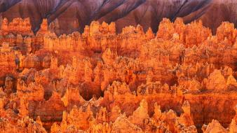 Bryce canyon utah rock formations wallpaper