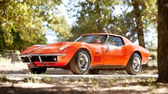 Cars chevrolet 1969 stingray corvette c3 wallpaper
