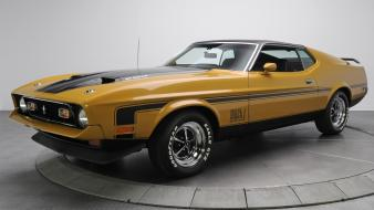 Cars ford mustang mach 1 muscle car auto wallpaper