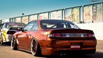 Cars nissan 240sx s14a wallpaper