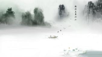 Chinese art wallpaper