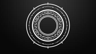 Circles magic arcane mandala tera online lanthiriel wallpaper