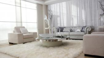 Couch room tables interior carpet furniture chairs Wallpaper