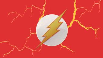 Dc comics symbol electricity lightning flash comic hero wallpaper
