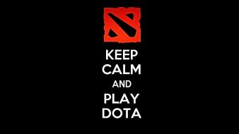 Dota keep calm wallpaper