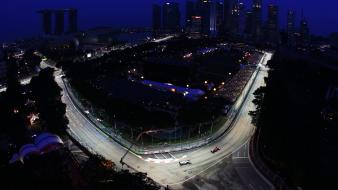 F2012 night race gp mercedes petronas amg wallpaper