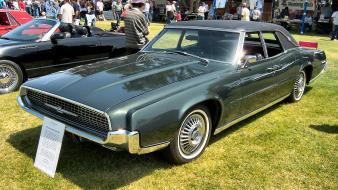 Green cars 1967 ford thunderbird classic Wallpaper