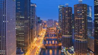 Illinois downtown chicago wallpaper