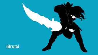 Ipod league of legends tryndamere wallpaper