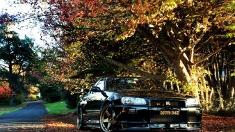 Jdm japanese domestic market nissan skyline r34 cars wallpaper