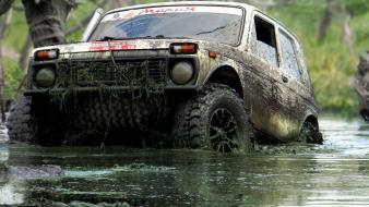 Lada 2121 niva russian cars wallpaper