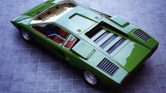 Lamborghini countach prototype lp400 auto wallpaper