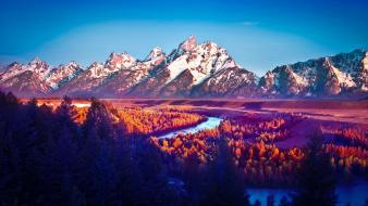Mod national park teton wallpaper