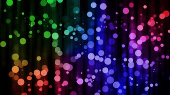 Multicolor dots wallpaper