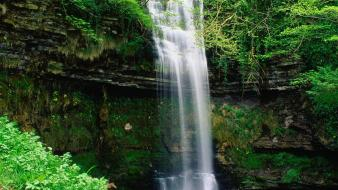 Nature ireland waterfalls wallpaper