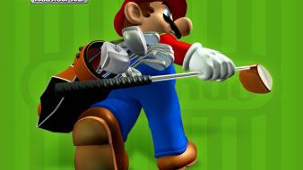 Nintendo mario gamecube golf: toadstool tour wallpaper