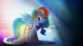 Rainbow dash my little pony: friendship is magic Wallpaper