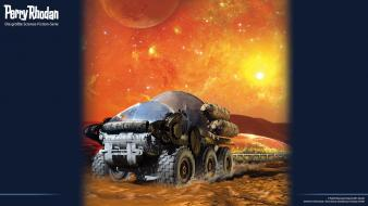 Rhodan science fiction magazine covers widescreen neo wallpaper