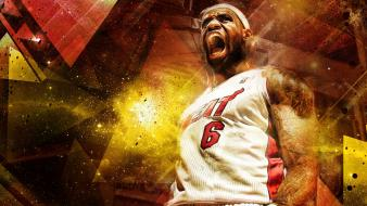 Sports nba basketball lebron james miami heat Wallpaper