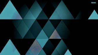 Textures mosaic triangles wallpaper