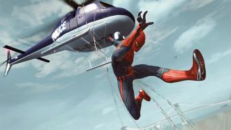 Video games helicopters spider-man the amazing wallpaper