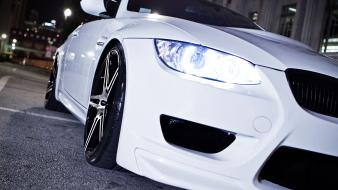 White cars bmw m3 e92 wallpaper