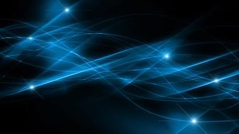 Abstract blue black back abs Wallpaper
