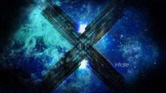 Abstract outer space deviantart photomanipulation Wallpaper