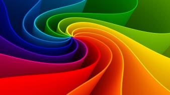 Abstract spectrum colors wallpaper