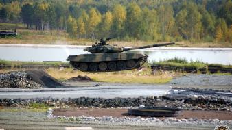 Army flying tanks t-90 russian wallpaper