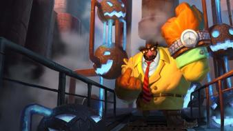 Artwork blitzcrank champions online games riot moba wallpaper