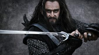 Beard the hobbit swords thorin oakenshield richard armitage wallpaper