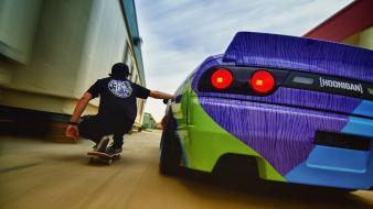 Blur blurred tuned 200sx hoonigan s13 hooning wallpaper