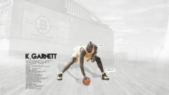 Boston baskets kevin garnett celtics basketball player wallpaper