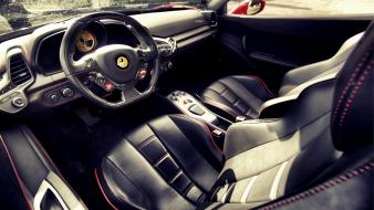 Cars ferrari interior vehicles 458 italia Wallpaper
