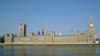 Cityscapes architecture day europe big ben rivers wallpaper