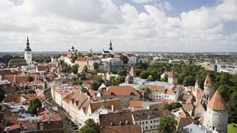 Cityscapes architecture day europe tallinn wallpaper
