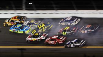 Crash nascar budweiser daytona wallpaper