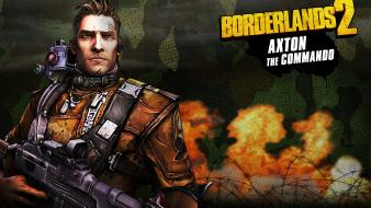 Guns weapons borderlands 2 gearbox software axton wallpaper