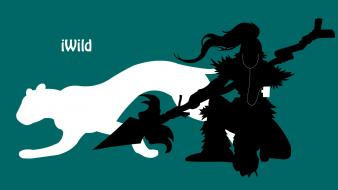 Ipod league of legends nidalee wallpaper
