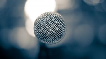 Macro microphones wallpaper
