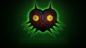 Majoras mask glow skull kid zelda: majora wallpaper