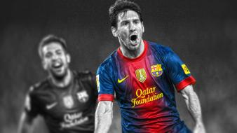 Messi hdr photography la liga stars cutout wallpaper