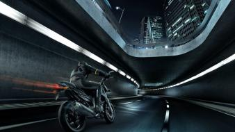 Motorbikes rendered Wallpaper