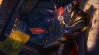 Online games riot moba twisted fate game wallpaper