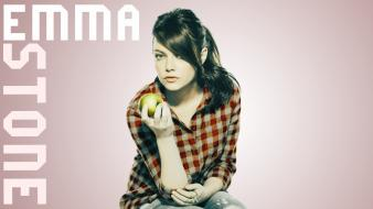 Redheads emma stone snl easy a flannel shirts wallpaper