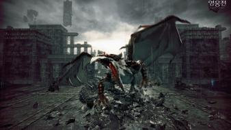 Nex hd wallpapers 3 ruins dragons vindictus nexon games mabinogi heroes siglint wallpaper voltagebd