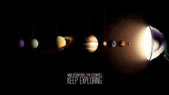 Saturn pluto neptune mercury artwork venus uranus Wallpaper