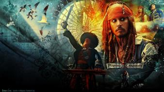 Sparrow on stranger tides symbols hector barbossa wallpaper