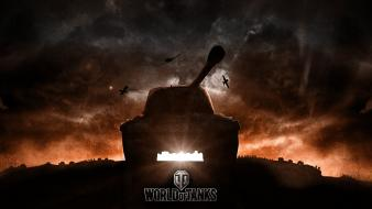 Tanks world of background wallpaper
